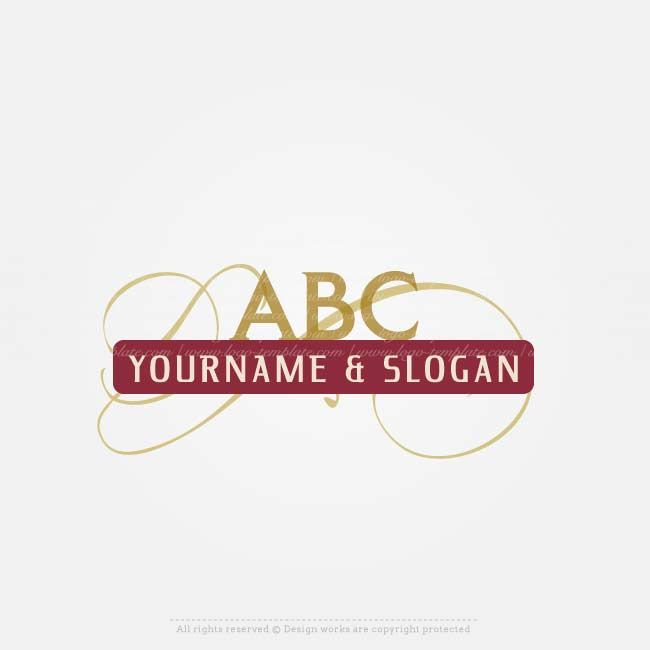 Buy a Logo Template - Ready made 3 letters logo design for sale online withalphabetlogo image. (Lawyer logos, Notary & law firm logos, Finance&Accountant logos)Design a logo online with our free logo maker. Use our logo creator to design your text, colors,