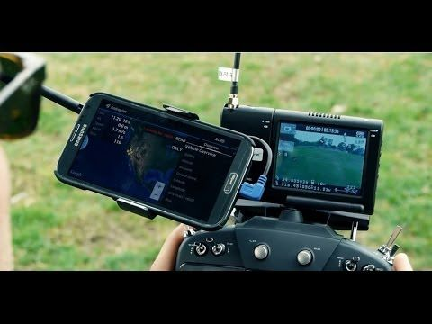 ▶ WANT: DJI Phantom on Steroids - DSLRPros.com Ultimate Aerial Film Drone with FPV OSD & Telemetry - YouTube