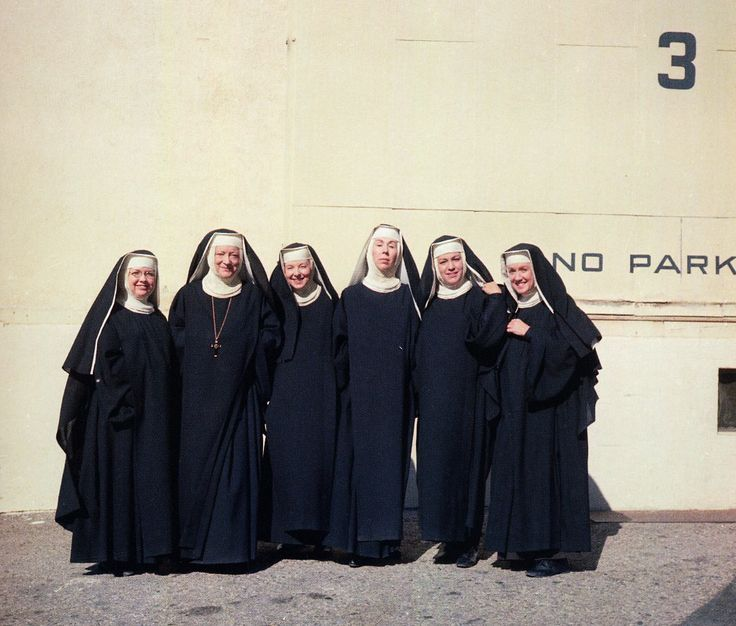 oh those funny nuns....'The Sound of Music'