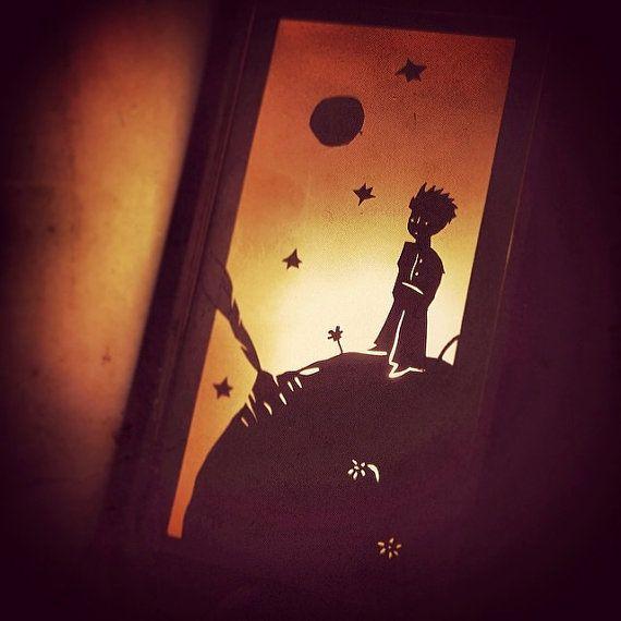 Little Prince lamp by IoannisKatsanos on Etsy