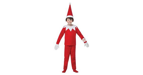 Your little one can report back to Santa in this Kids Elf on the Shelf Costume. | Halloween Costume