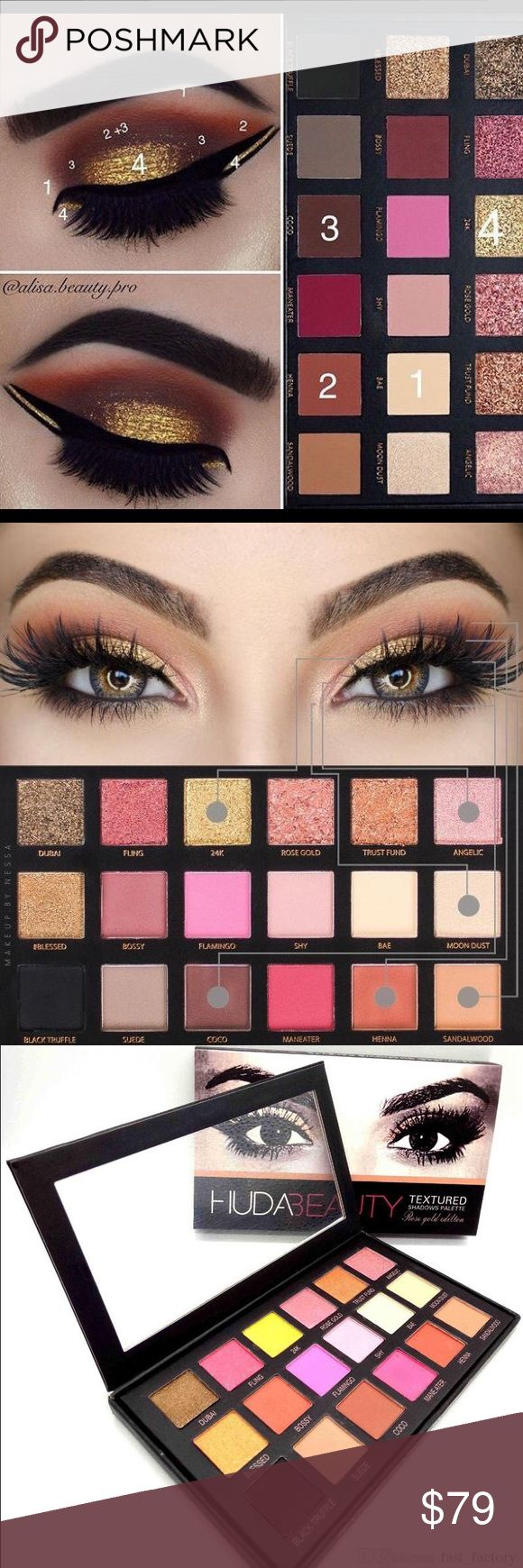 Hot selling huda beauty pellet on sale Huda beauty is a social media beauty diva and she has crazy fan following specialLy for this beautiful palette please Check out the video here https://youtu.be/k