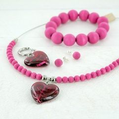 Viehko jewelry set by Aarikka