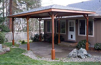 die besten 25 terrassen berdachung freistehend ideen auf pinterest carports sonnensegel. Black Bedroom Furniture Sets. Home Design Ideas