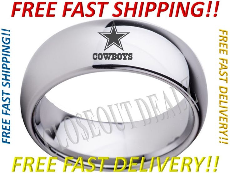 Dallas Cowboys Themed Wedding Band We have an extensive inventory of sports themed wedding bands available for purchase at our online store. Visit today and plug your favorite sports team into the search bar to view our ever growing inventory!
