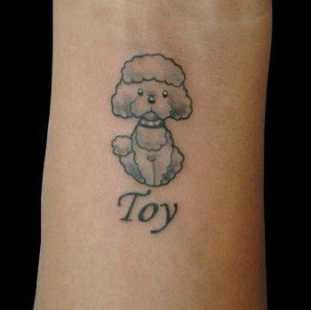 The 14 Coolest Poodle Tattoo Designs In The World