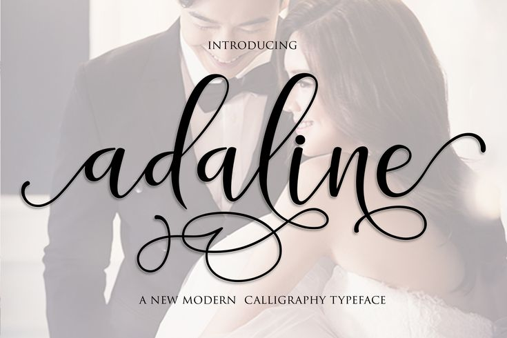 The Adaline Script is a new, fresh & modern script with a handmade calligraphy style. It features decorative characters and a dancing baseline!  It works great for many different uses, such as invitations, greeting cards, branding materials, business cards, quotes & posters, lettering and much more.  It's packed with over 500 unique glyphs.