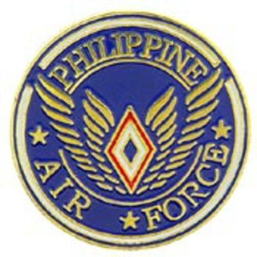 """Philippine Air Force Pin 1"""" by FindingKing. $8.99. This is a new Philippine Air Force Pin 1"""""""
