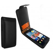 Forro Samsung Galaxy S2 Piel Frama Classic Snap - Negra  Bs.F. 479,29