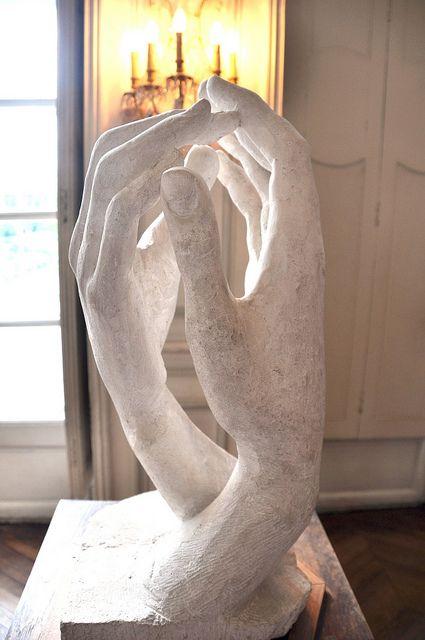 HANDS ~ SCULPTURE BY AUGUST RODIN Rodin Museum, Paris, France