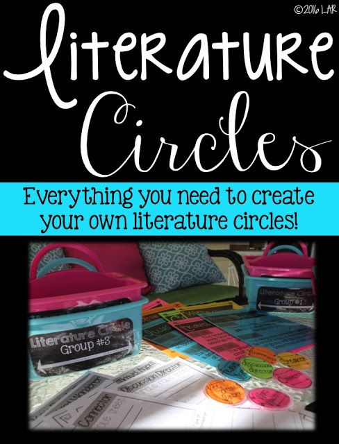 Life in Fifth Grade: Spice Up Your Literature Circles!                                                                                                                                                                                 More