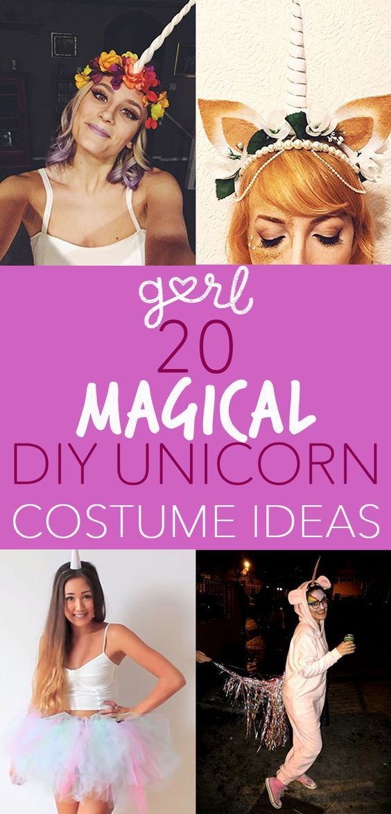 Is there anything more magical than a unicorn? The answer, to me, is no. Unicorns are pure and beautiful, too pure for this world, really (literally), and they deserve all of the love. Unicorns represent color and magic and aesthetically pleasing vibes, which makes them perfect for a DIY Halloween costume. What makes them even more perfect for a costume is that they literally are not real, meaning you can define them however you want. Want to be a gothic unicorn who shuns color?