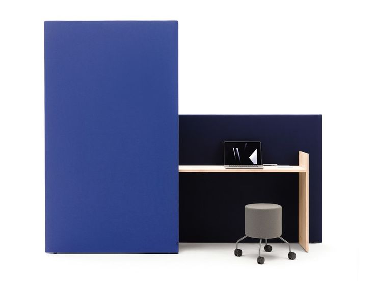 Free standing modular workstation screen CHART by COR