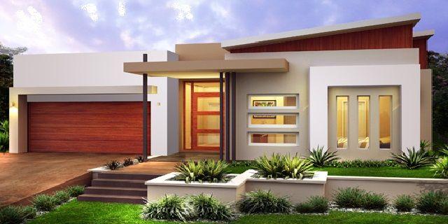 Minimalist Home Design Single Story