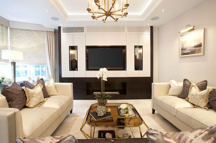 Luxury Living Room  | JHR Interiors