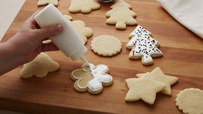 1001 Ideas De Recetas Sobre Galletas De Navidad Receta De Galletas De Azúcar Masa Para Galletas Decoradas Royal Icing Para Galletas