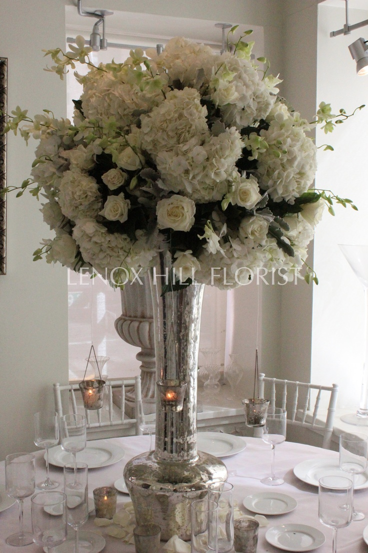 Tall centerpiece flower arrangements wedding events