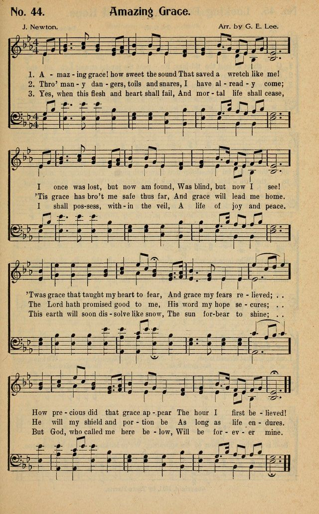 Old Hymns Amazing Grace 77