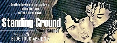 Standing Ground (Under Ground #2) by Alice Rachel - @AliceRachelWrit, @XpressoTours, #Dystopian, #Romance, #Young_Adult, 5 out of 5 (exceptional) - April
