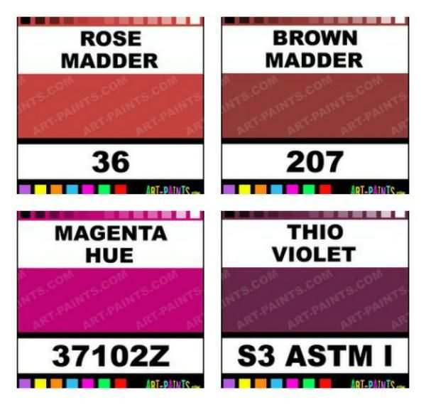 colors that make up Jewel Tone or Rose Tone Summer skin tone