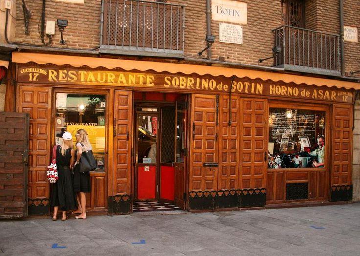 World's Oldest Restaurant--Madrid