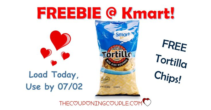 It's the KMART FRIDAY FIX! Get an ecoupon for FREE Smart Sense Tortilla Chips! Get the ecoupon now!  Click the link below to get all of the details ► http://www.thecouponingcouple.com/kmart-friday-fix/ #Coupons #Couponing #CouponCommunity  Visit us at http://www.thecouponingcouple.com for more great posts!