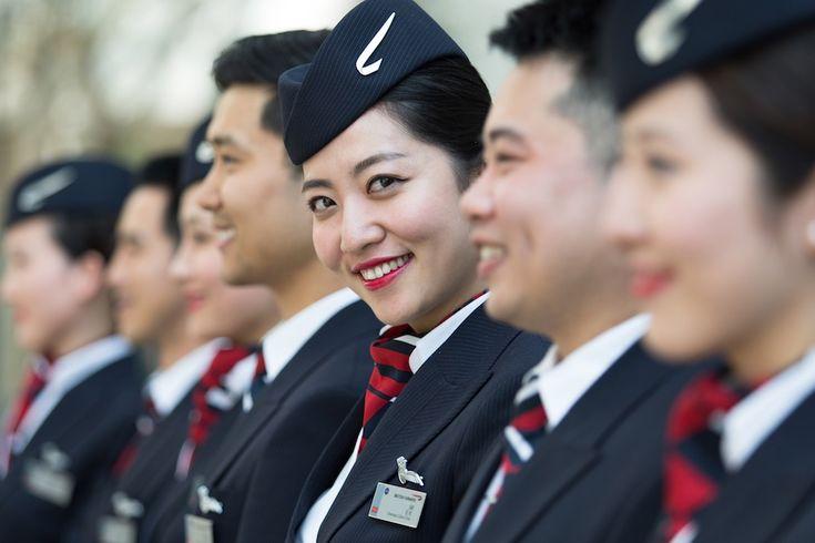 Hôtesse de l'air chinoise de British Airways