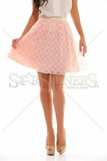 Fashion Delivery Peach Skirt