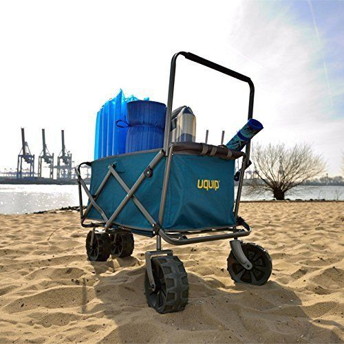 Figaro chariot de plage beach-buddy uquip 245201 charge maximale 100 kg