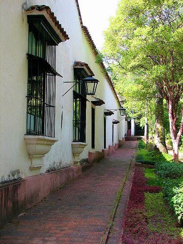 Vista de fachada Quinta Anauco. Museo de Arte Colonial. #Caracas. #Venezuela