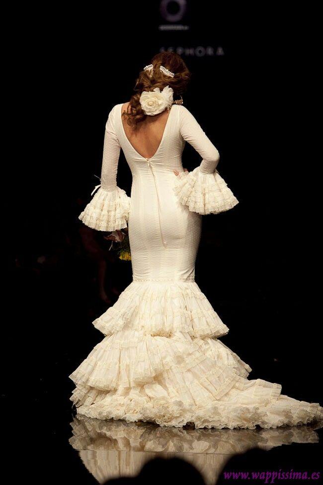 Otro precioso traje en blanco total