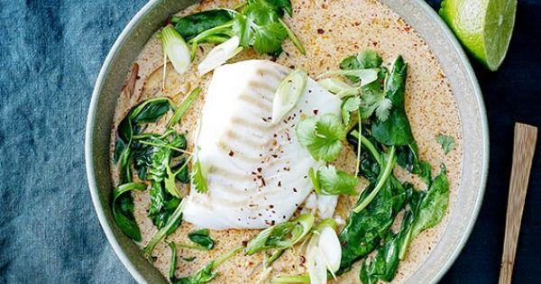 Voor een veggie versie, vervang de vis door een mix van kikkererwten en rode linzen.