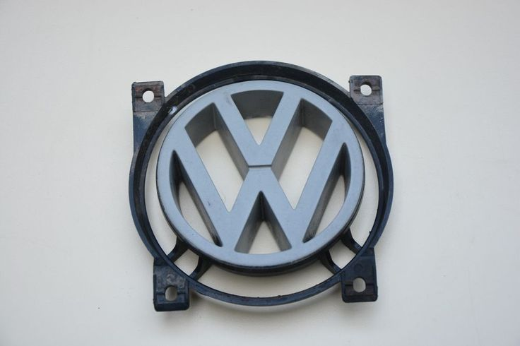USED VW LOGO ORIGINAL PASSAT  FRONT BADGE 357853601 100mm DIAMETER  357853601E #VW