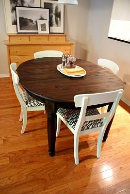 17 Best Ideas About Refinished Dining Tables On Pinterest