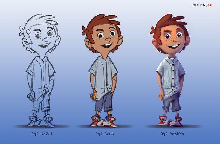 Character Design Quarterly 2 Visual Development : Best cartoon d boy images on pinterest character