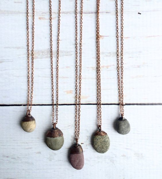 Necklace - Beach Pebble | Hawkhouse