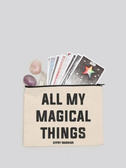Magical Things Pouch - Gypsy Warrior