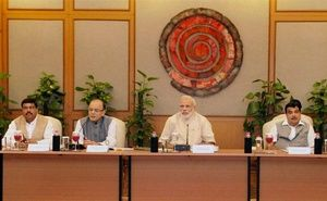 Prime Minister Narendra Modi today asked India Inc to increase risk-taking appetite and step up investments even as industry leaders pressed for interest rate cut and more policy action to improve ease of doing business.