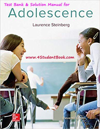Adolescence steinberg 11th edition pdf download