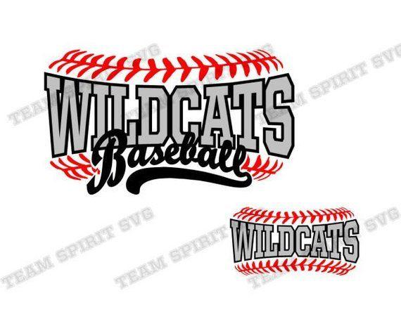 Baseball Laces svg Wildcats Baseball Download File Baseball