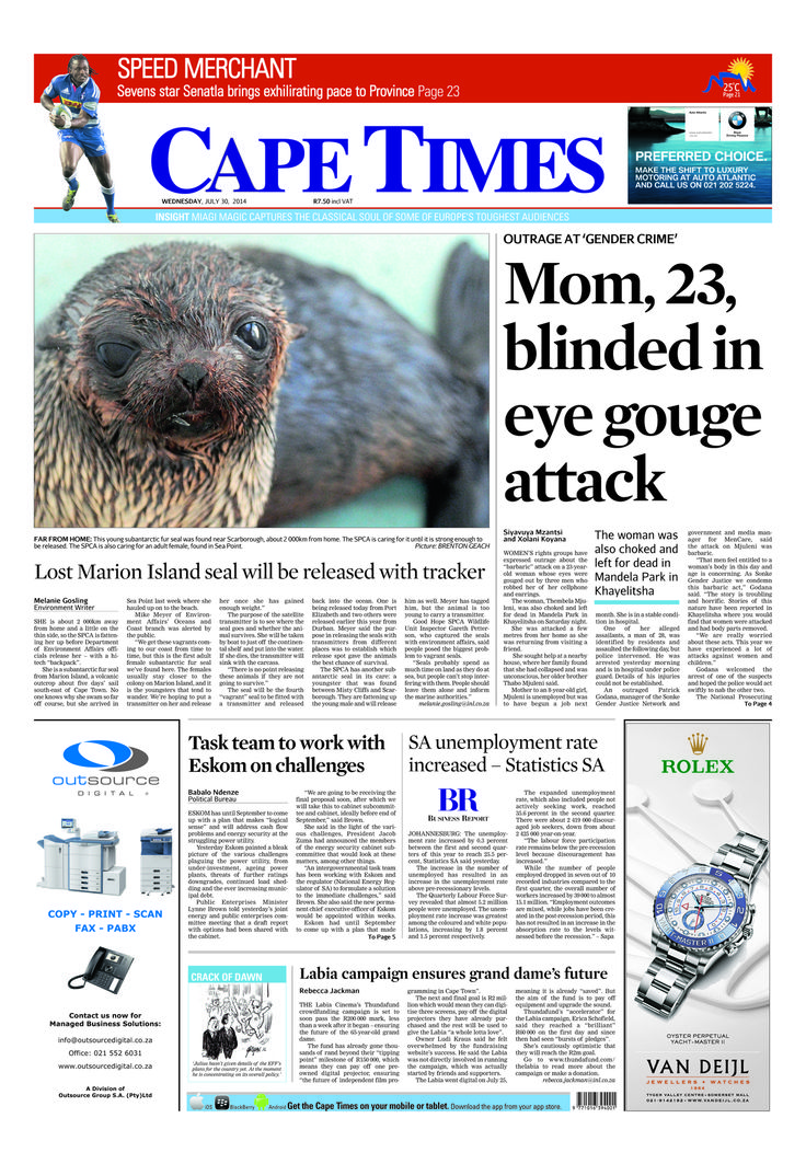 News making headlines: Mom blinded in eye gorge attack