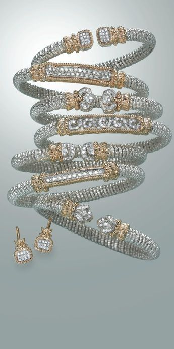 Sterling Silver & 14kY Diamond Jewelry | Vahan Jewelry | Available at Lake Oswego Jewelers