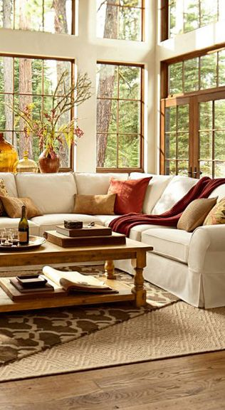 winter inspired home ideas warm living roomsbeautiful - Warm Interior Design Ideas