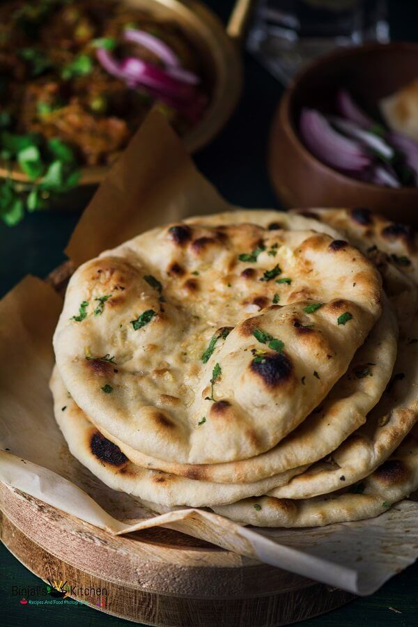 No Yeast Whole Wheat Garlic Naan without tandoor/oven, no yeast, eggless, still crispy, soft, fluffy naan like restaurant. To try