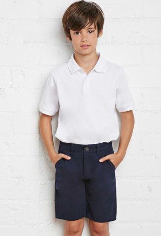 School Uniform Shorts (Kids)   FOREVER 21 BOYS   #f21kids