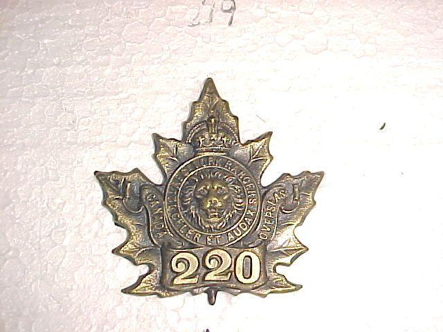 220th Infantry Battalion Cap