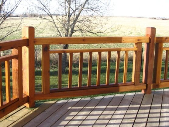 deck railing designs do it yourself