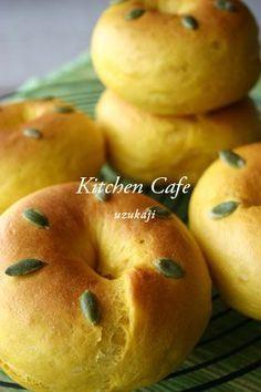 「かぼちゃベーグル」uzukaji   お菓子・パンのレシピや作り方【corecle*コレクル】