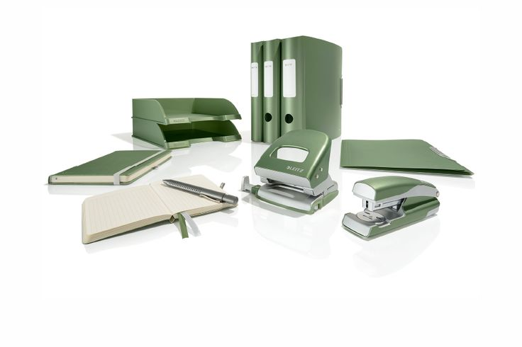 Or a desk in 'Celadon Green?'  #leitz #style #organised #office #desk #stationary