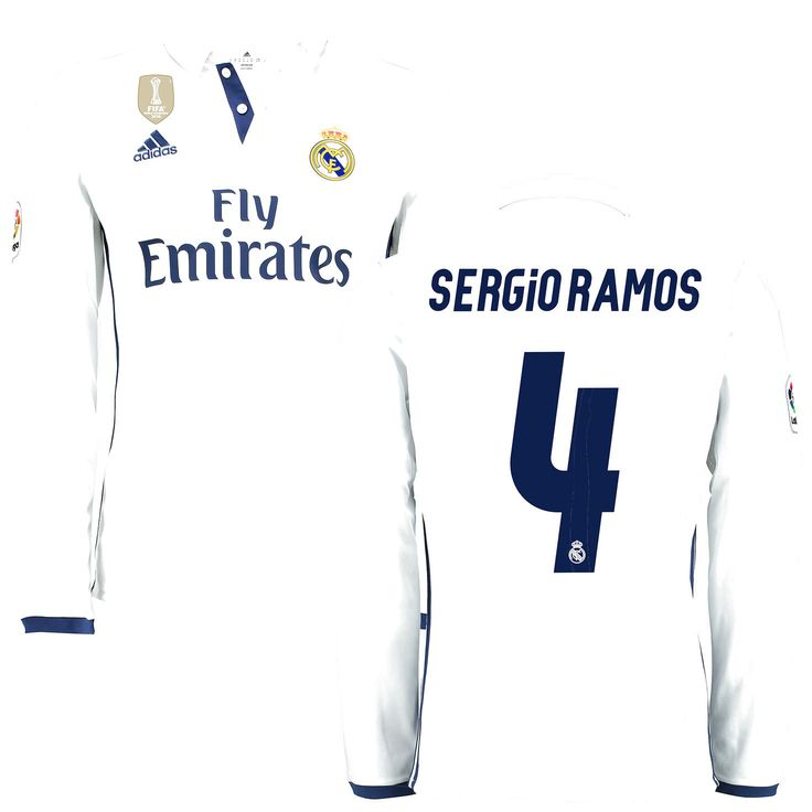 Sergio ramos 1034 pinterest sergio ramos sergio ramos real madrid adidas home fifa world cup champions patch long sleeve replica jersey voltagebd Image collections